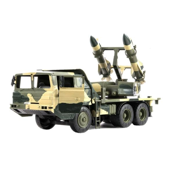 World Peacekeepers Military Anti Aircraft Missile Army Vehicle Toy with 2 figures